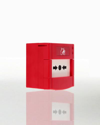Adreslenebilir yangın alarm butonu, hava şartlarına dayanıklı (IP67), resetlenebilir